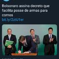 Brasil se torna o primeiro que tem 100% da população armada