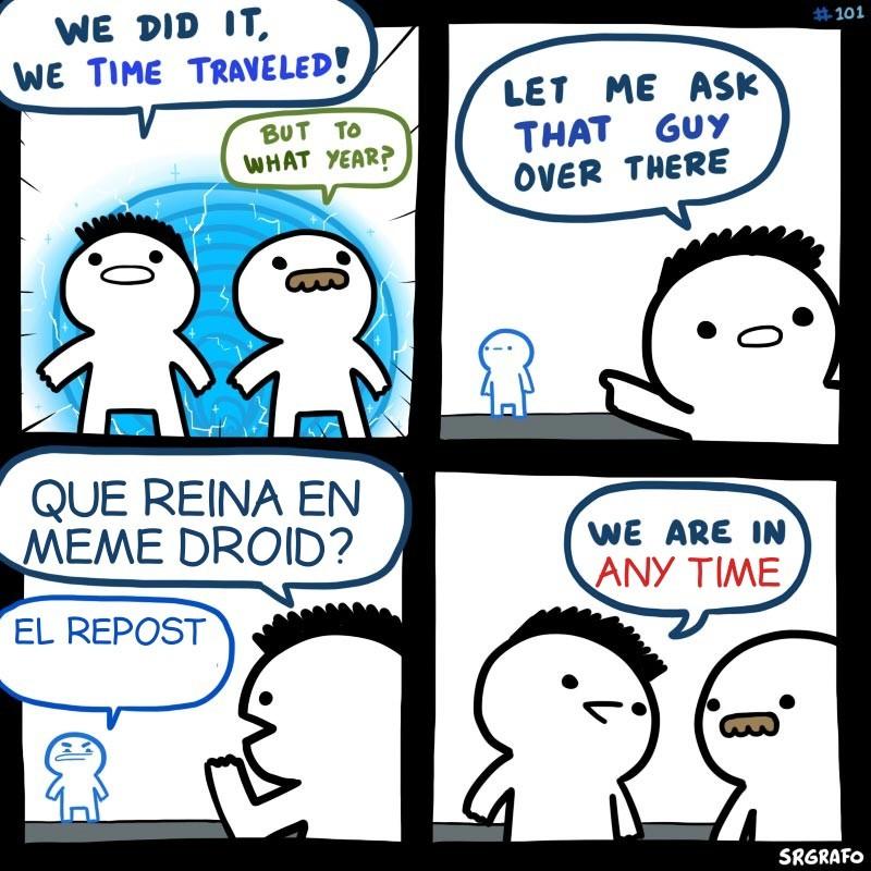 Repost anywhere - meme