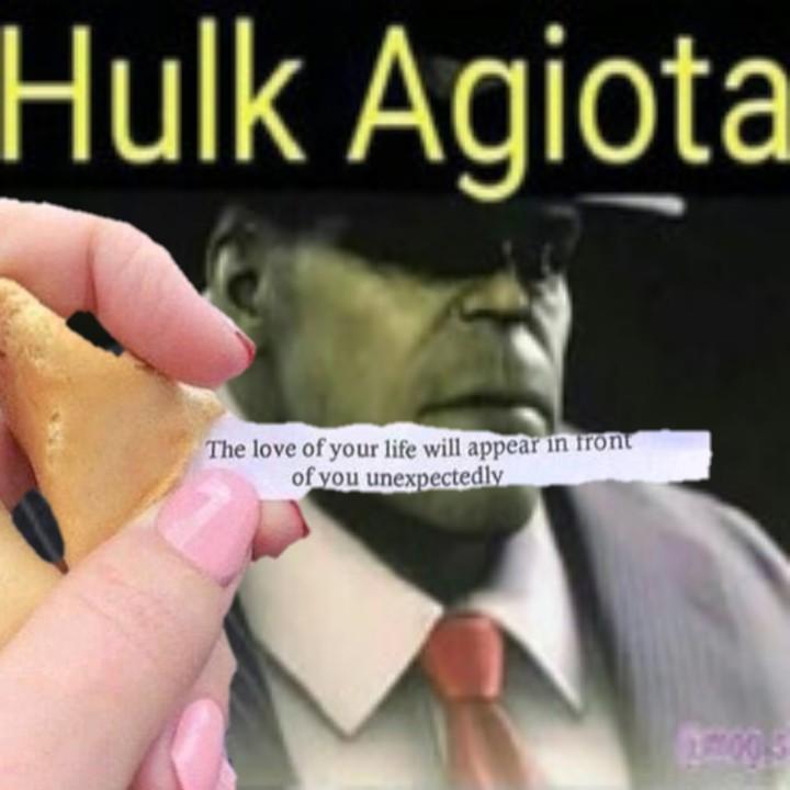 Hulk agiota - meme