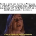 I'm so proud of my class.