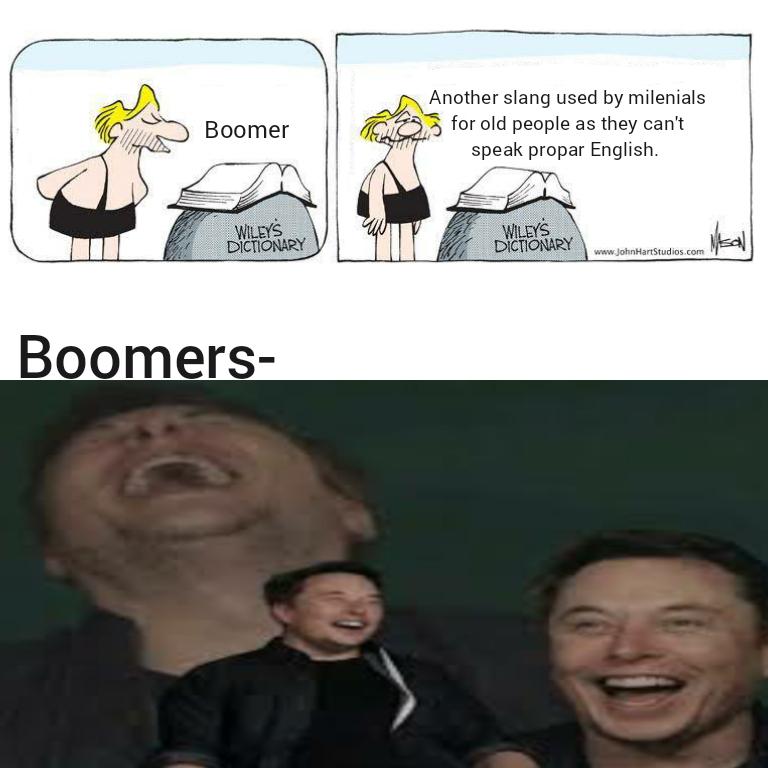 Siri, define Boomer. - meme