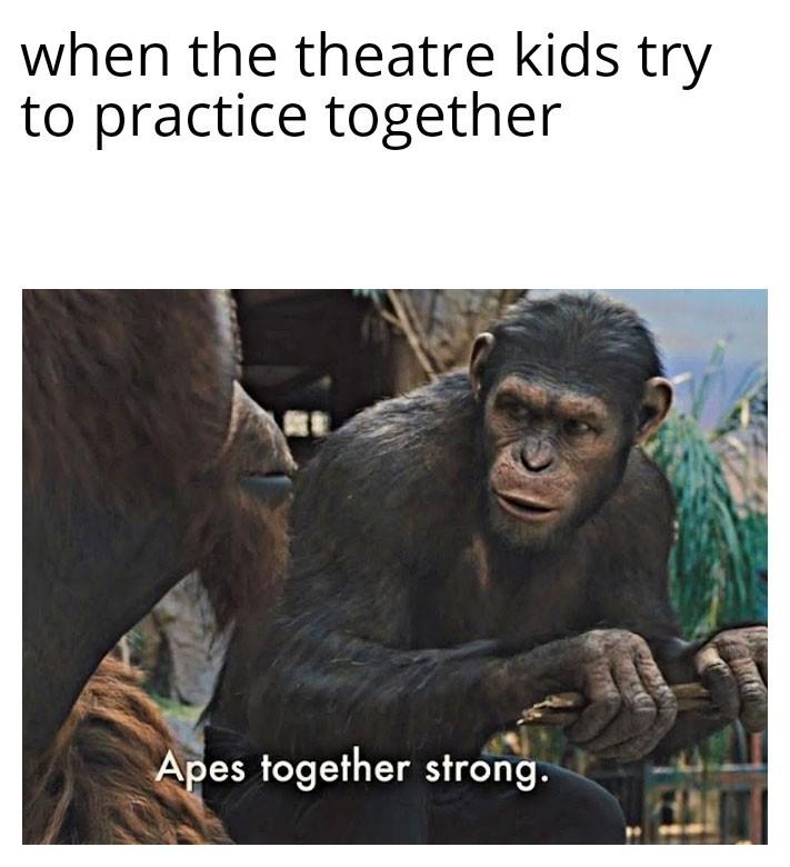 Theatre - meme