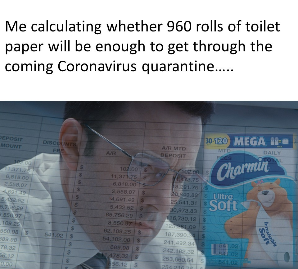 The Real Coronavirus Calculation Everyone is Trying to Solve - meme