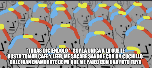 son  npcs version mujer - meme