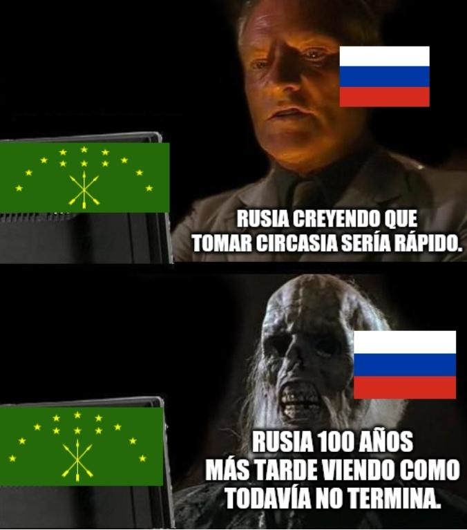 El título se fue a Circasia. - meme