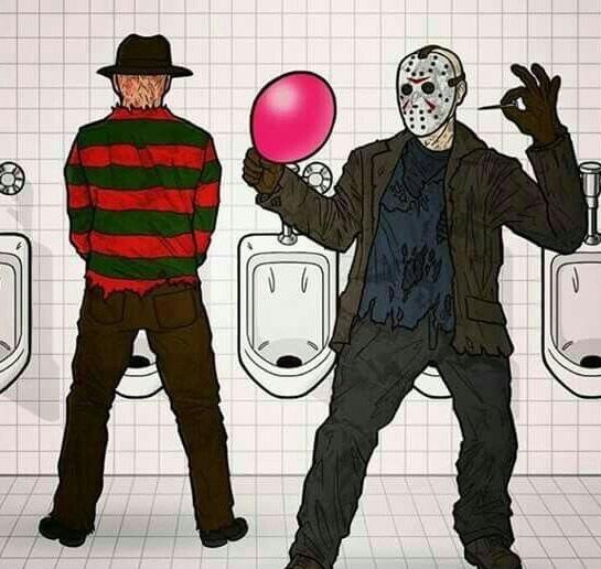 Y así fue como Freddy perdió su pene - meme