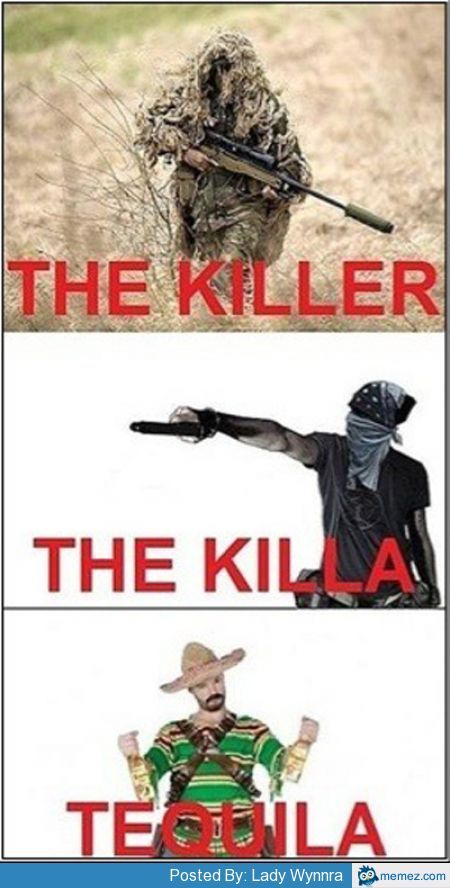 the killer... who are u - meme