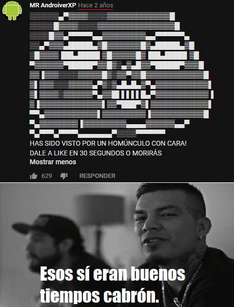 Meme casi en blanco y negro