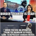 Plot twist, Blackbeard has been assigned to Border Patrol, this is canon now