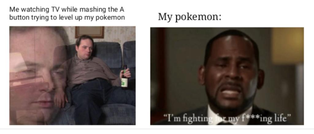 favorite Pokemon game? - meme
