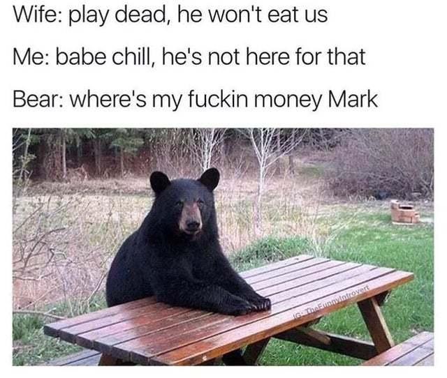 Where's my fucking money Mark? - meme
