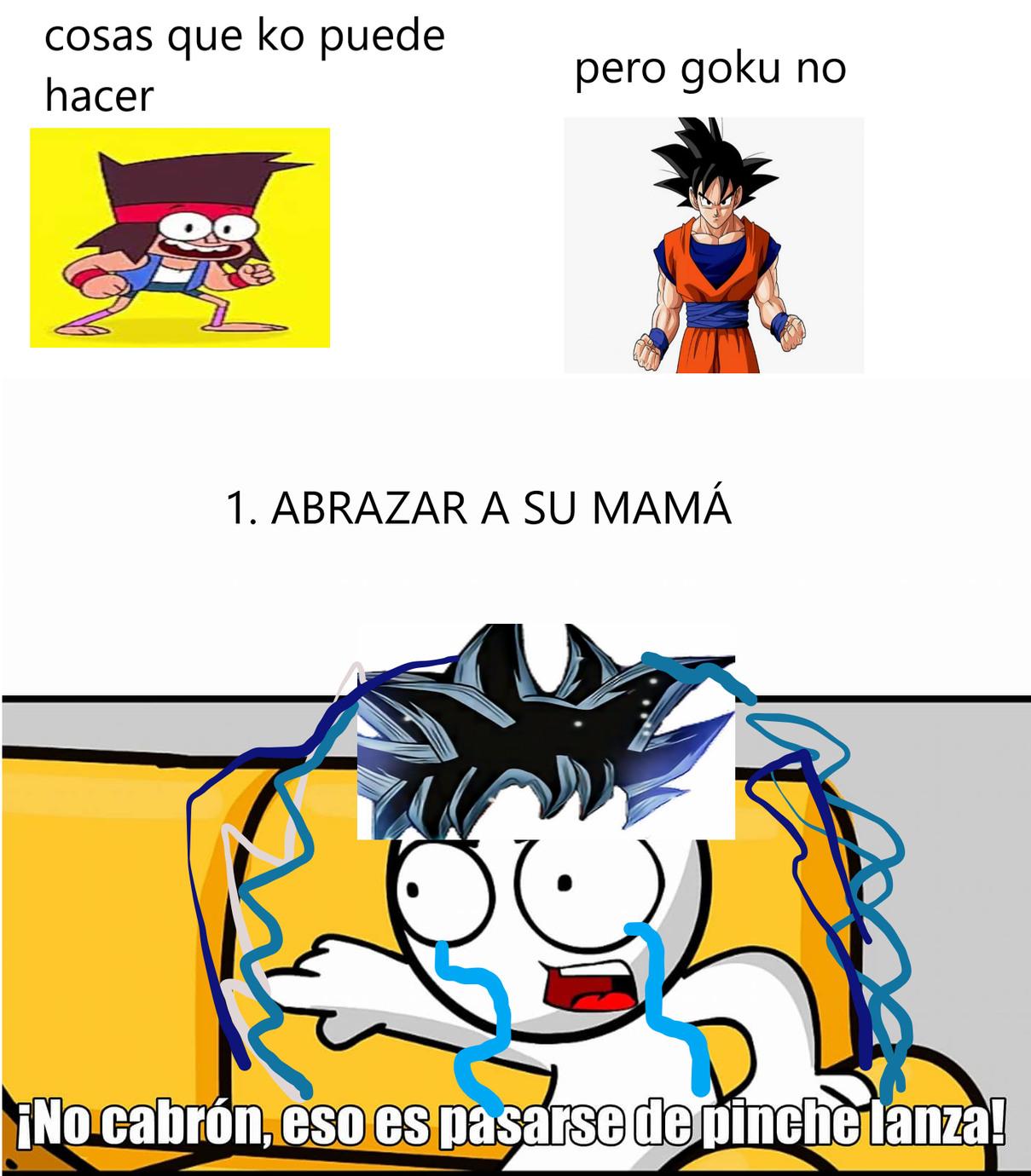 solo los que han visto ambas series entenderan - meme