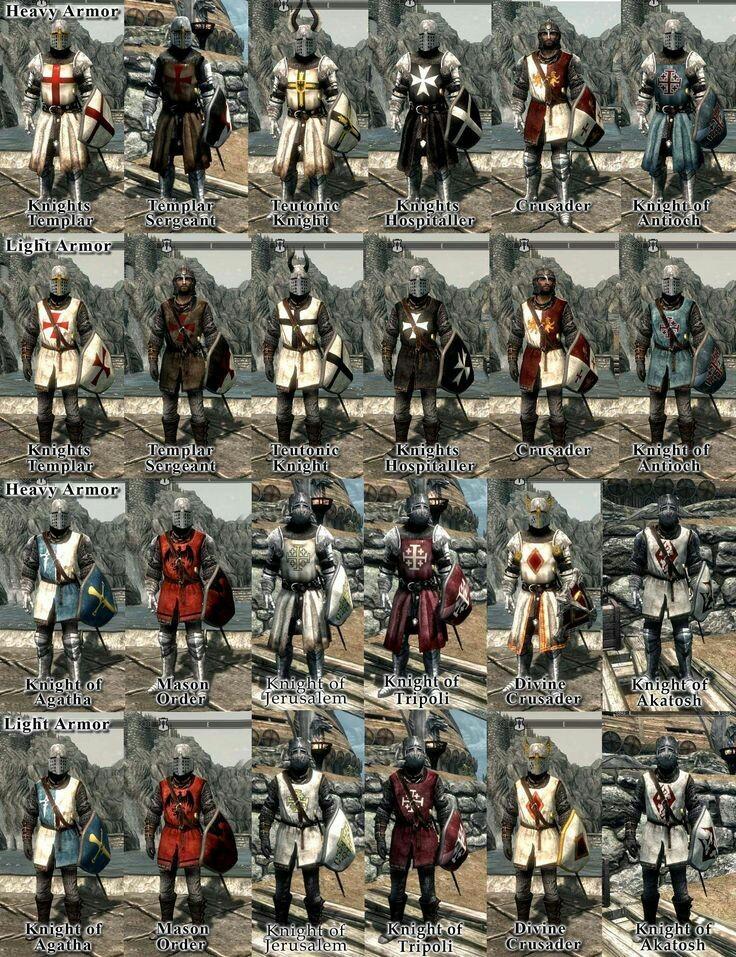 Todos los caballeros que participaron en las cruzadas - meme