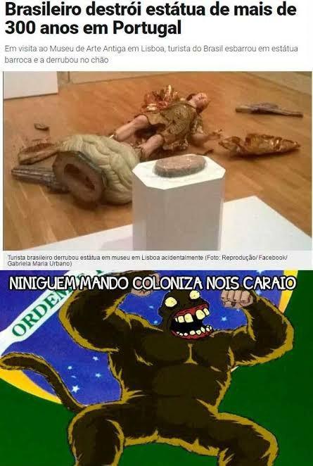 aq é brasil - meme