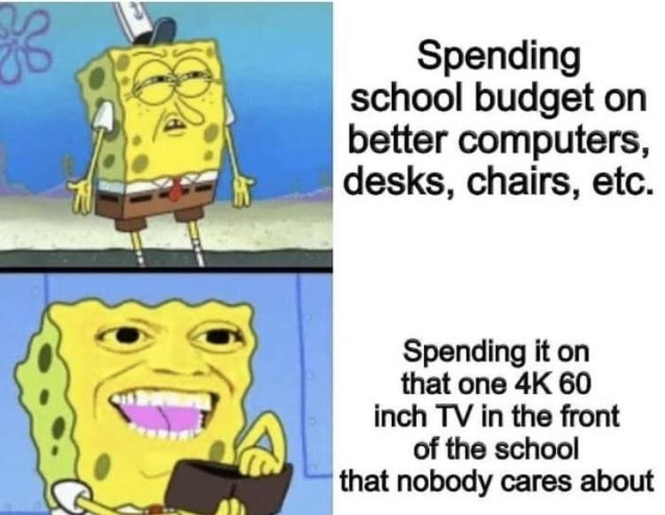 schools be like - meme