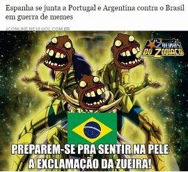 Exlcamaçao - meme