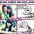 Neymar de peruca