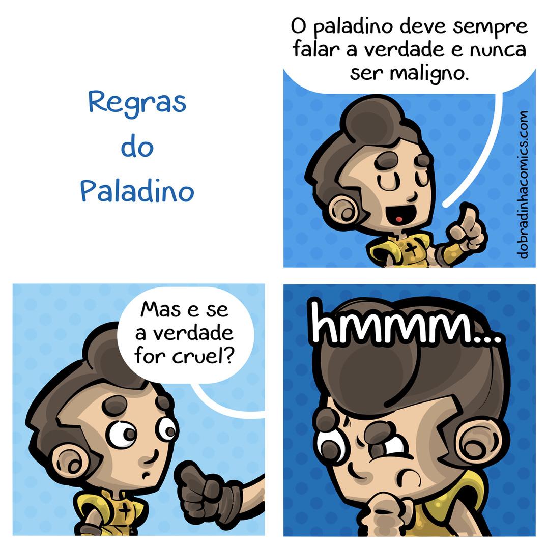 Paladino de RPG - meme