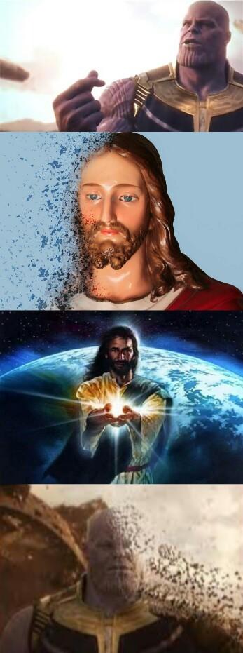 Spoiler de Avengers 4 - meme