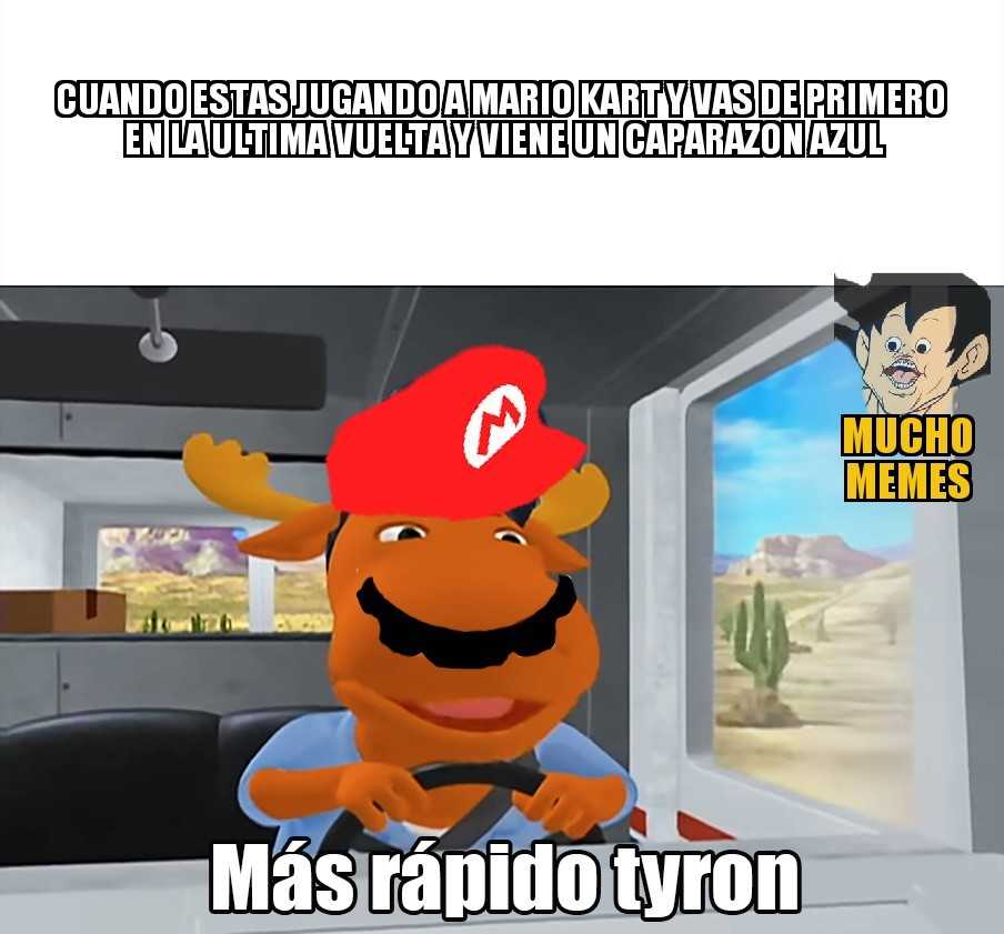 Mas rapido - meme