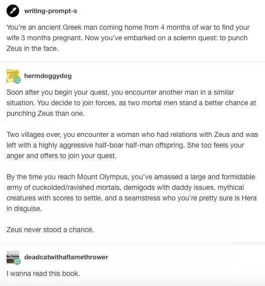 Damnit Zeus - meme