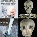 Not the calcium