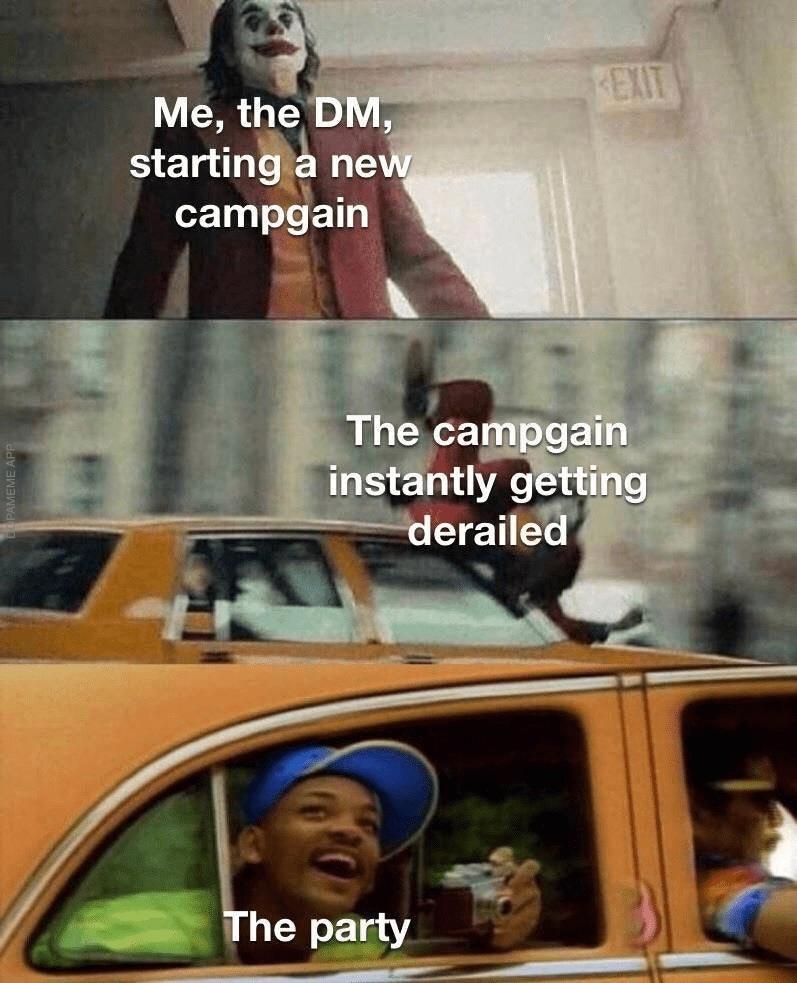 derailed - meme