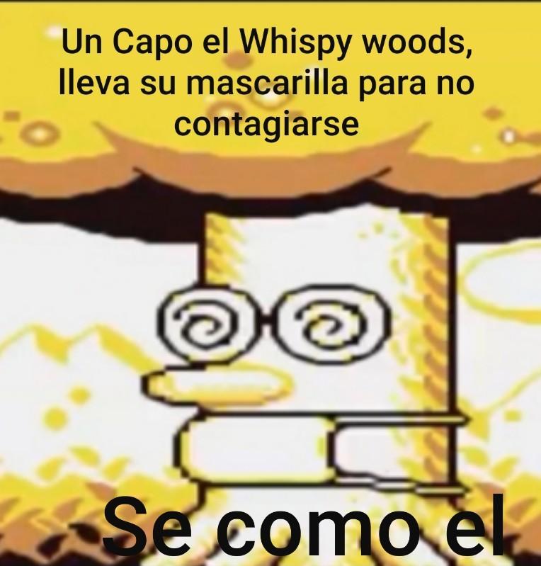 Whispy - meme