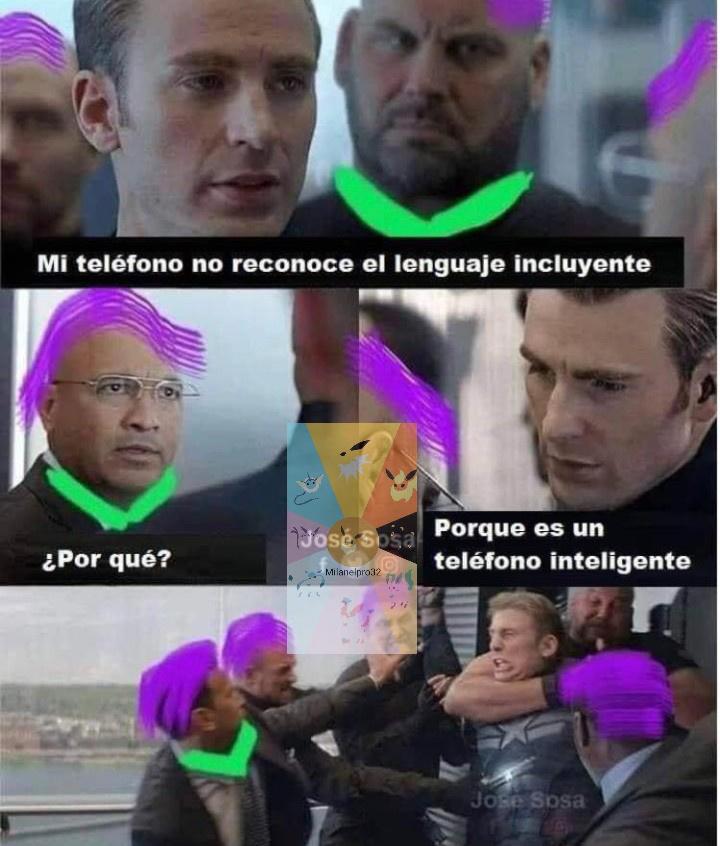 El mejor superhéroe del mundo - meme
