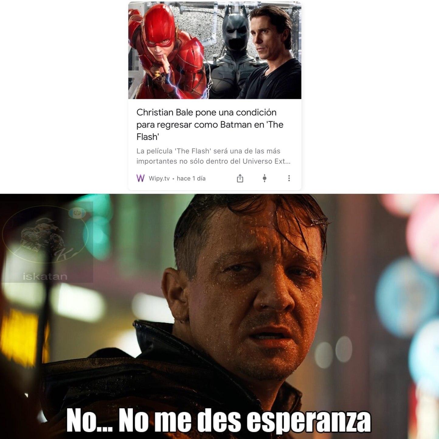 lo mismo nos hicieron con el Spiderman de tobey maguiare:( - meme