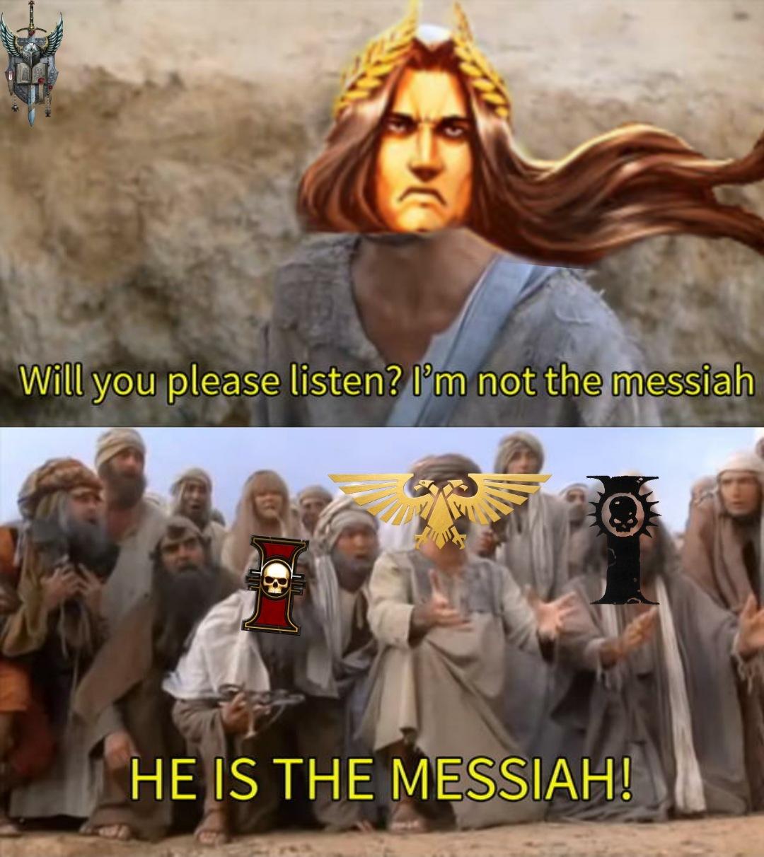 El Imperium desde que Lorgar decidió cagarla - meme