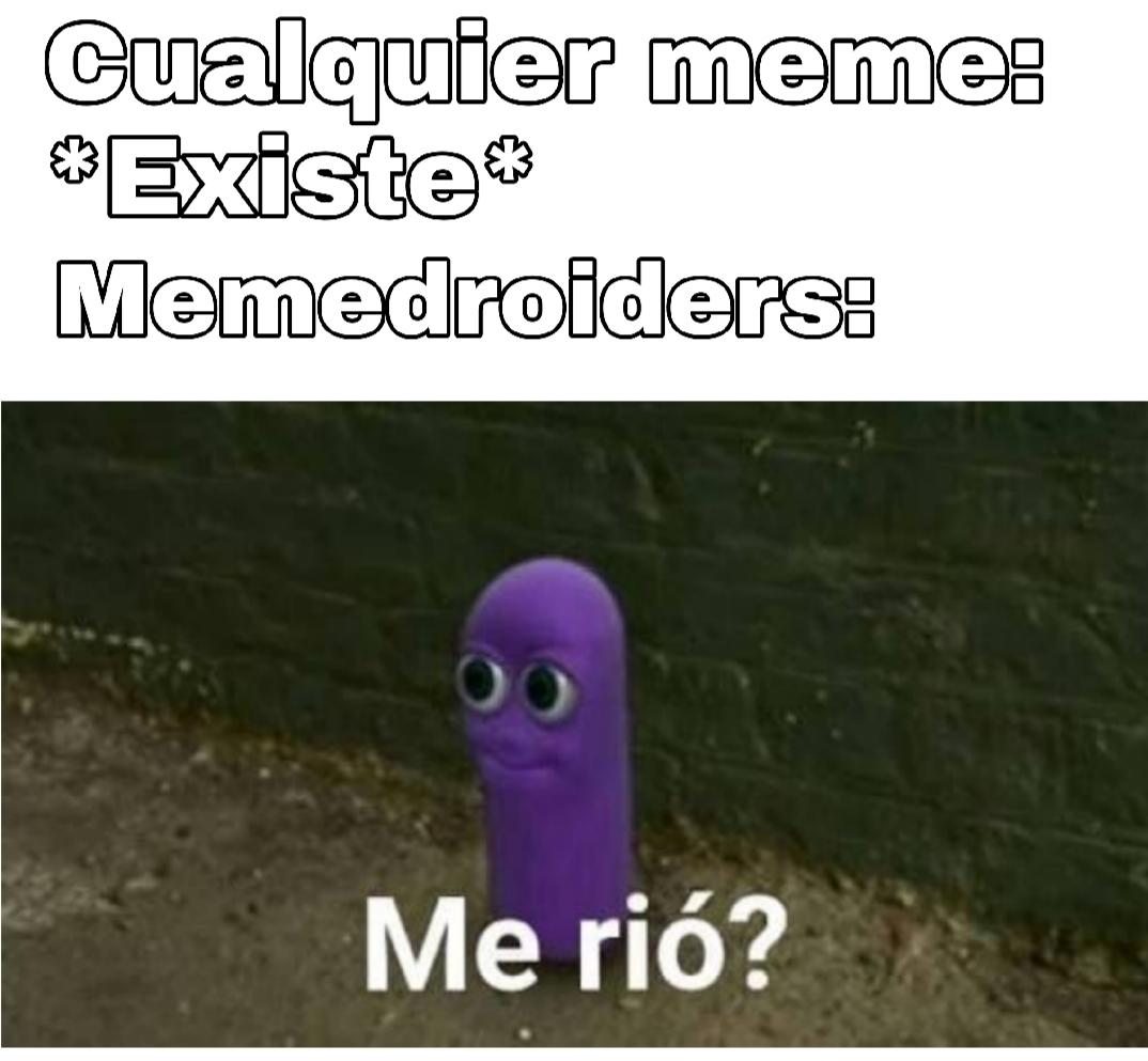 Me rio? - meme