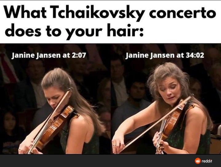 Tchaikovsky ain't no joke - meme