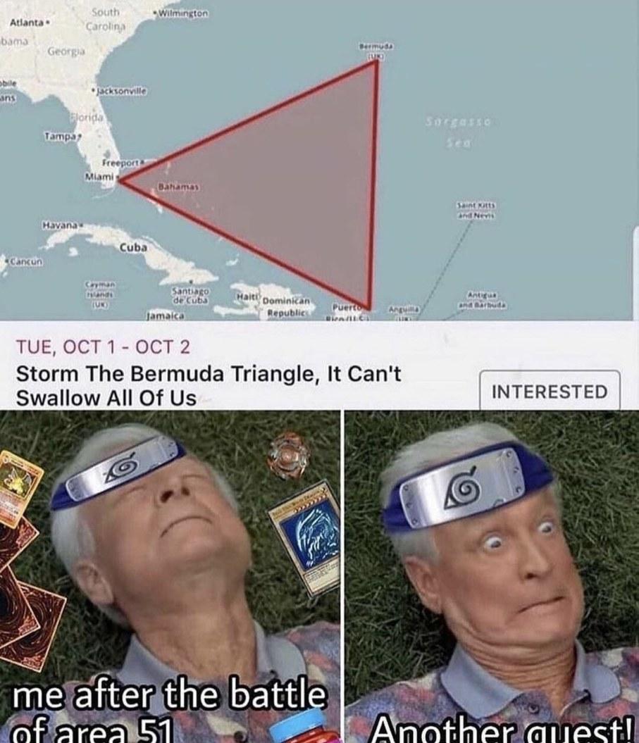 Quest - meme