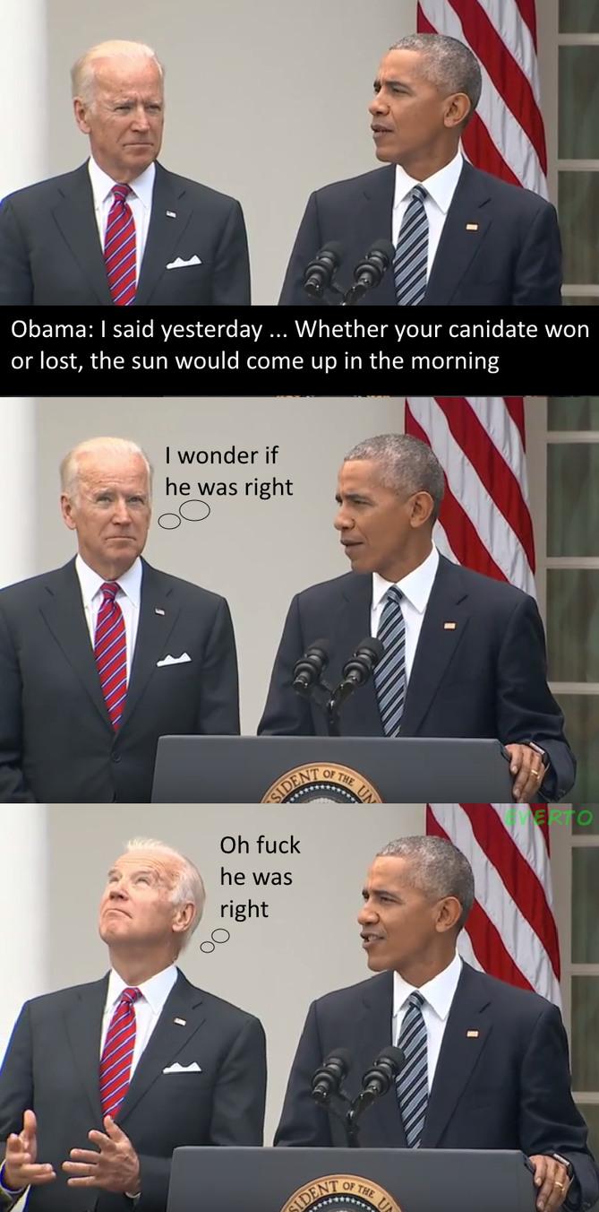 Republican as you might... gotta love biden - meme