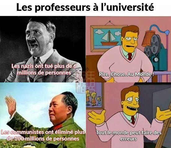 Ces gaucho de profs ^^ - meme