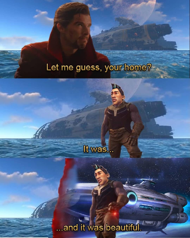 Subnautica - meme