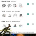 Rage memes en whatsapp :D