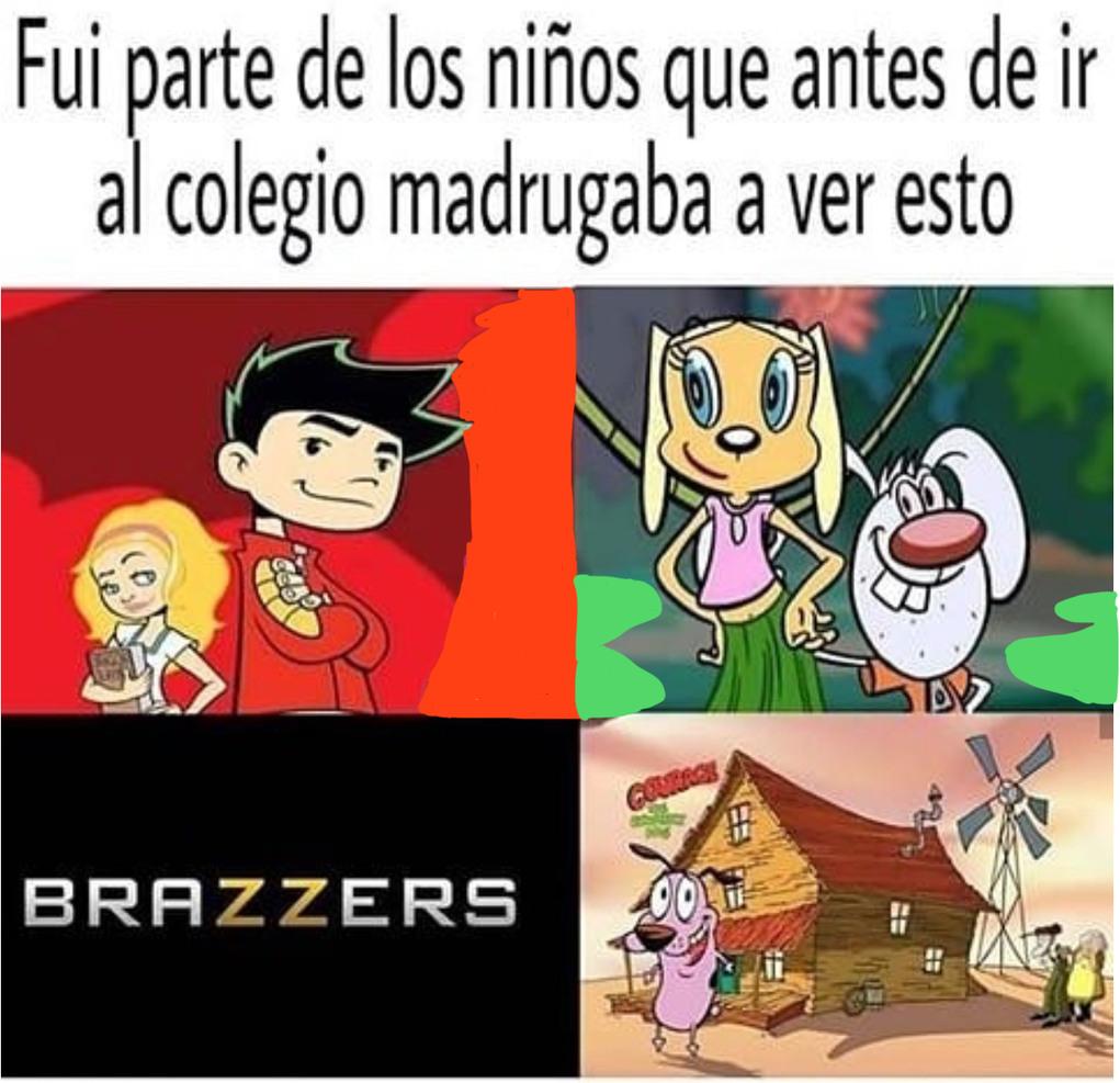 Ahh la infancia - meme