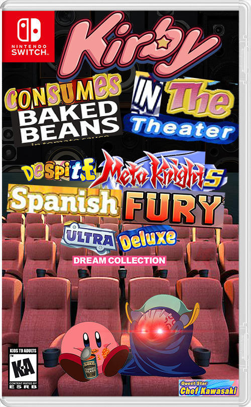 Next gen Kirby game - meme