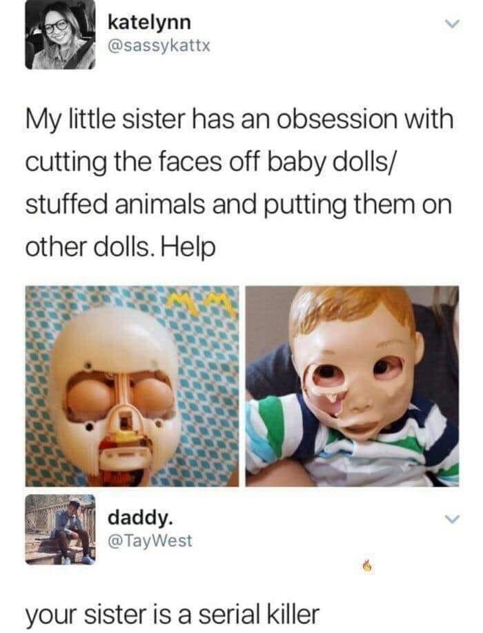 serial killer - meme