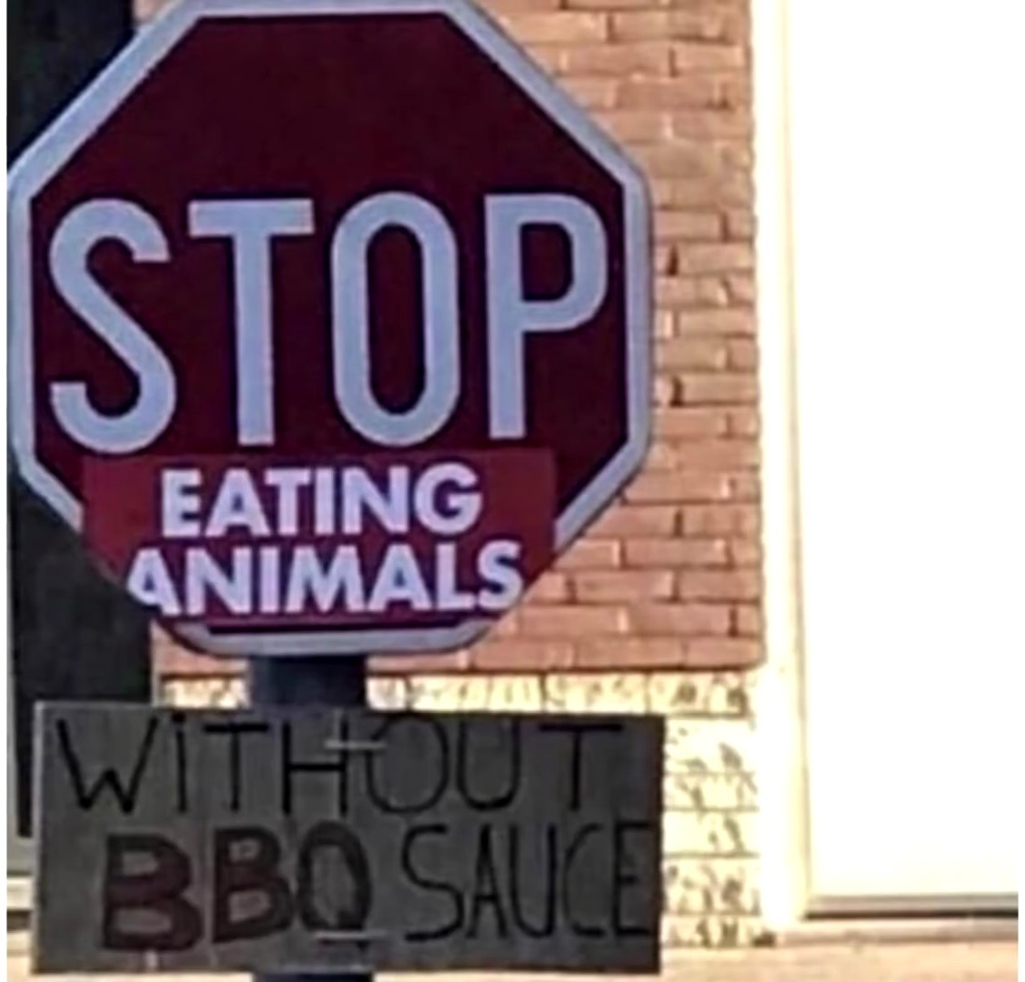 Misleading sign - meme