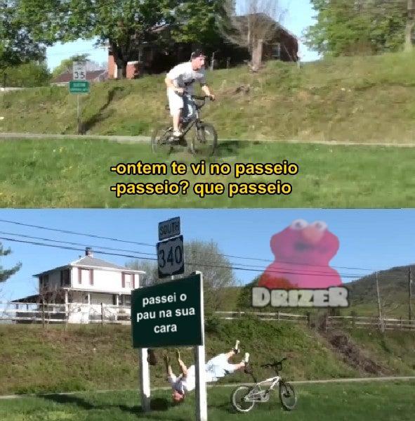 passeio - meme