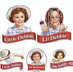 Little Debbie - meme
