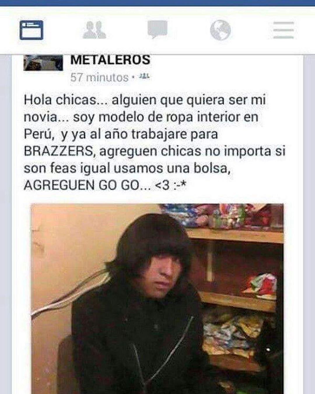 Cosa de peruanos - meme