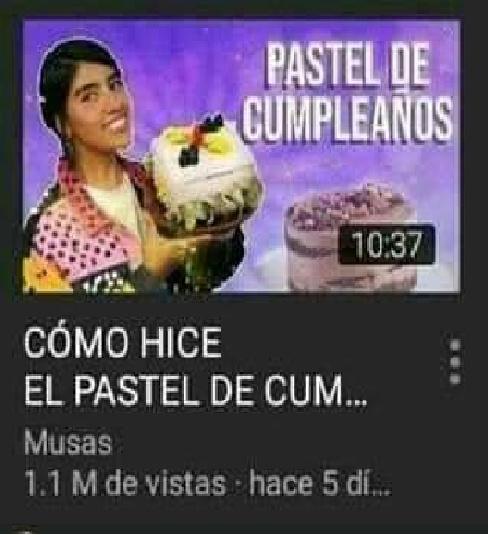 Pastel de CUM - meme