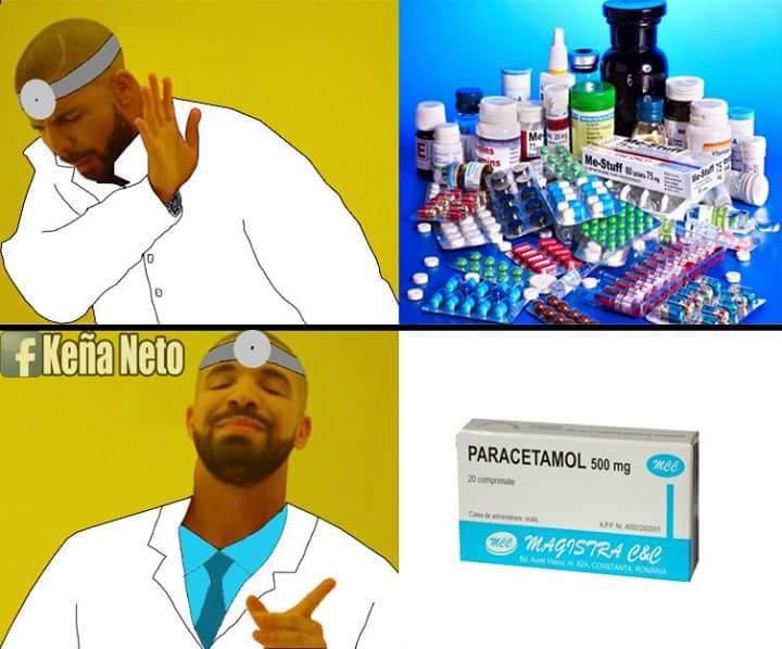 parazetamol - meme