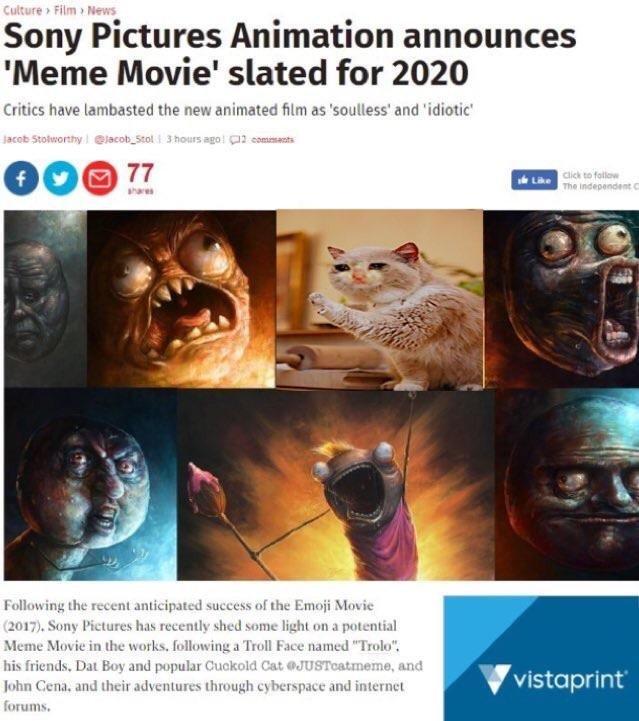 I want to see the emoji film - meme