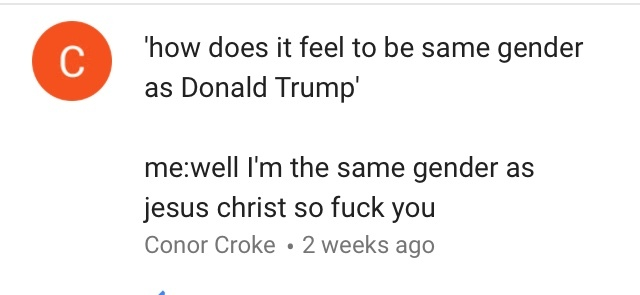 Donald trump = Jesus confirmed. heil hitler - meme