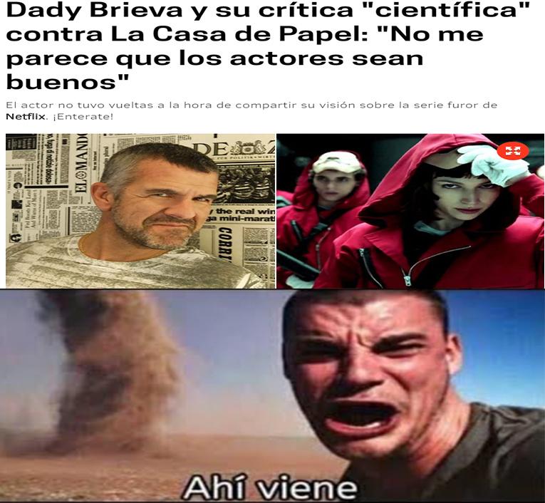 Ahi viene la tormenta de arena xD - meme